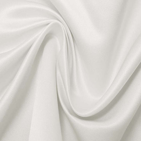 Silk Blend Duchess Satin Ivory