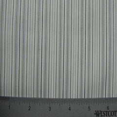 100% Cotton Fabric Stripes Collection #1 07 KO3158 LUR0025WHT - NY Fashion Center Fabrics