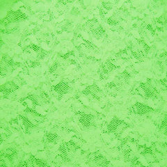 Nylon Stretch Raschel Lace 07 Neon Green - NY Fashion Center Fabrics