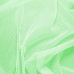 Nylon/Spandex Sheer Stretch Mesh 07 NeonGreen - NY Fashion Center Fabrics