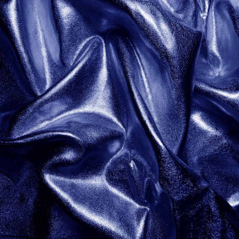 Metallic Spandex 07 Royal - NY Fashion Center Fabrics