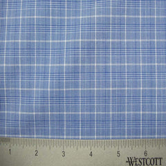 100% Cotton Fabric Checks Collection #3 07 Y D9500W B - NY Fashion Center Fabrics