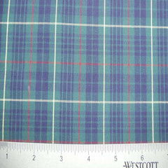 100% Cotton Fabric Checks Collection #6 07 Y D9811BGR - NY Fashion Center Fabrics