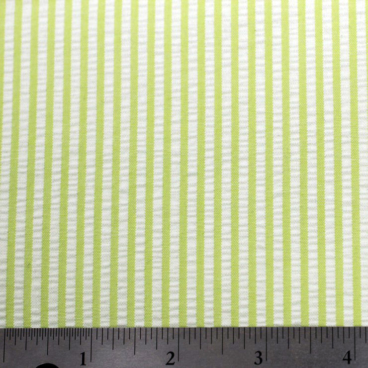 Cotton Seersucker 07 lime - NY Fashion Center Fabrics