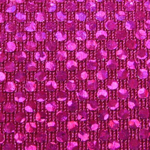 Shattered Glass Hologram Spandex 08 Fuchsia