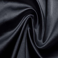 Silk/Nylon Blend Supreme Stretch Duchess Satin 08 Navy