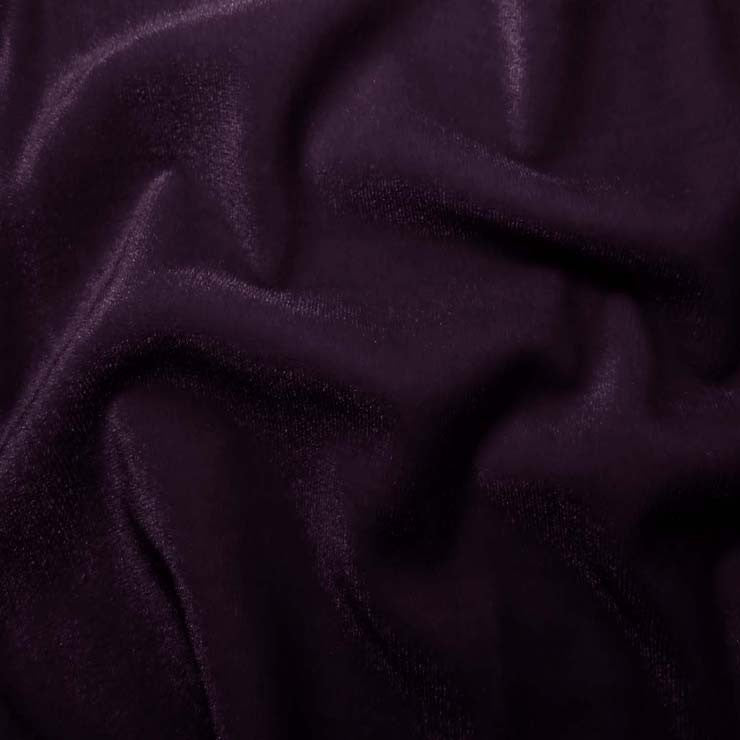 Polyester Stretch Velvet - 15 Yard Minimum 08 Purple