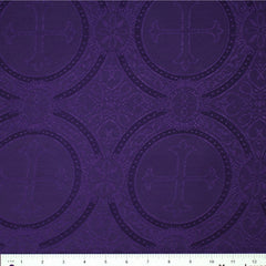 Polyester Tonal Church Brocade 08 Purple
