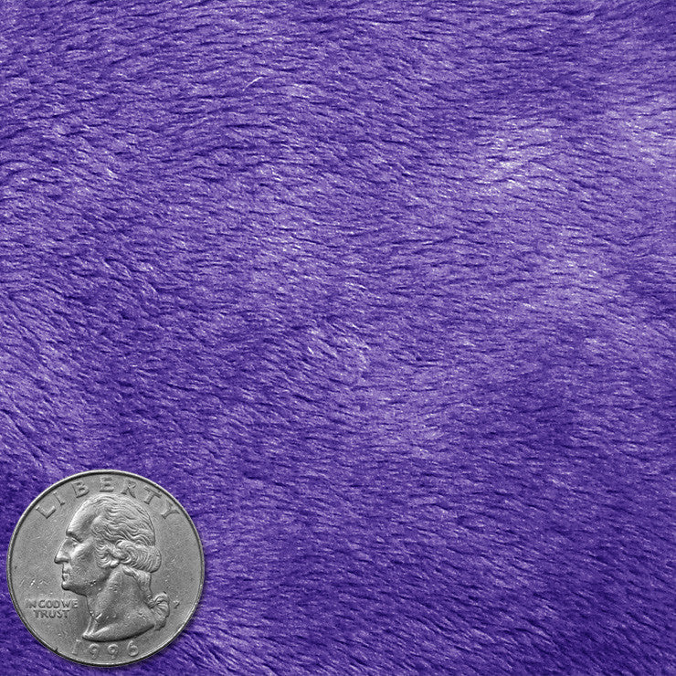 Polyester Faux Fur 08 Purple