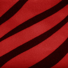 Matte Zebra Print Spandex 08 Red - NY Fashion Center Fabrics