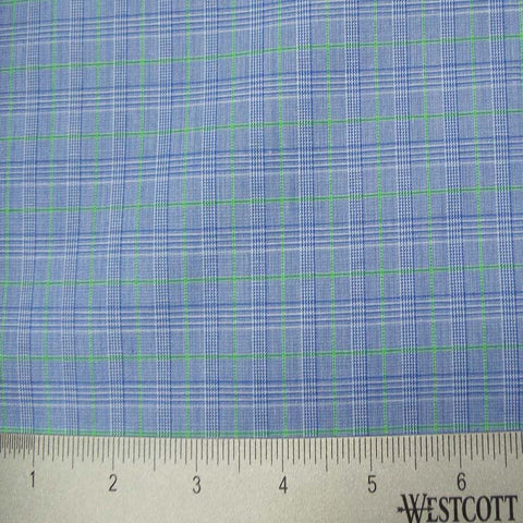 100% Cotton Fabric Checks Collection #3 08 Y D9500G B - NY Fashion Center Fabrics