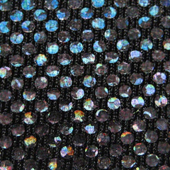 Shattered Glass Hologram Spandex 09 Black