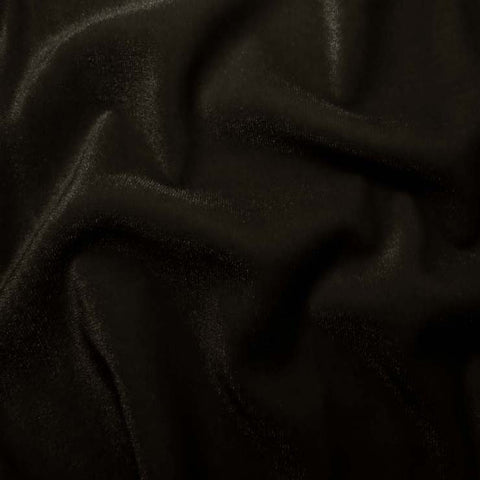 Polyester Stretch Velvet - 15 Yard Minimum 09 Brown