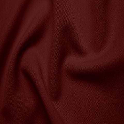 Poly/Rayon Blend Stretch Gabardine - 20 Yard Bolt 09 Burgundy