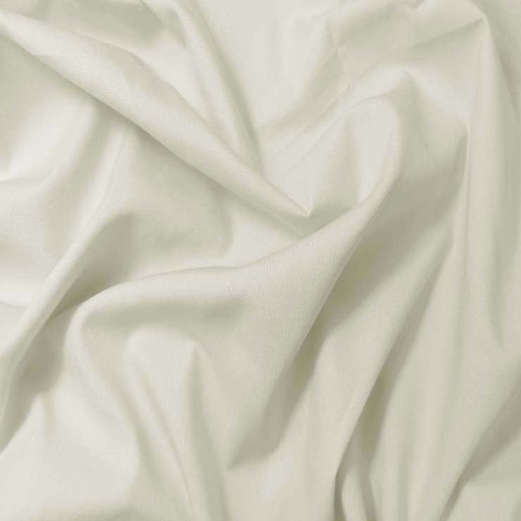 Pima Cotton Broadcloth - 30 Yard Bolt 09 Eggshell