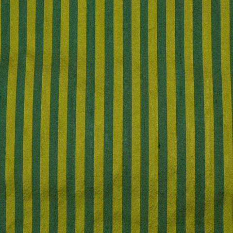 Silk Shantung Stripes and Checks Fabric 09 J