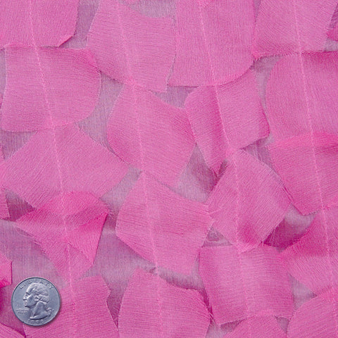 Silk Chiffon Novelty Petal Fabric 09 Light Pink