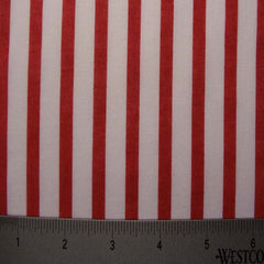 Cotton Striped Shirting #3 09 Red - NY Fashion Center Fabrics