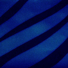 Matte Zebra Print Spandex 09 Royal - NY Fashion Center Fabrics
