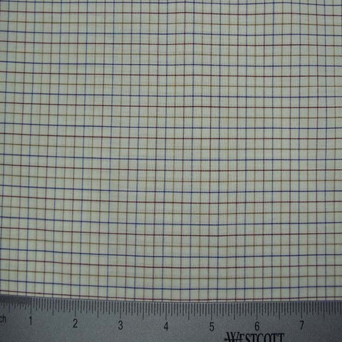 100% Cotton Fabric Checks Collection #2 09 SK B005Z - NY Fashion Center Fabrics