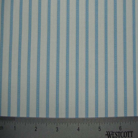 100% Cotton Fabric Stripes Collection #8 09 TWS1888SKY - NY Fashion Center Fabrics