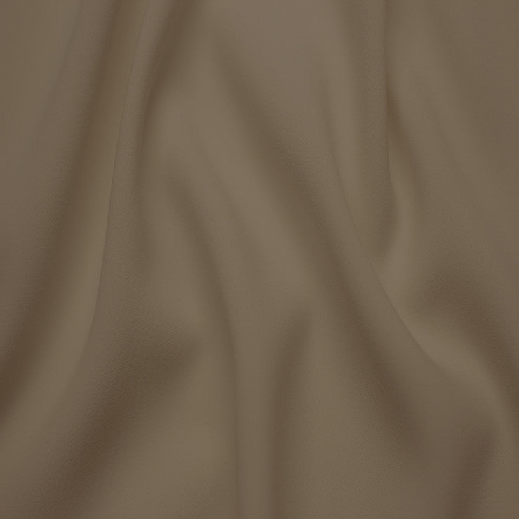 Polyester Stretch Crepe Jersey 09 Taupe