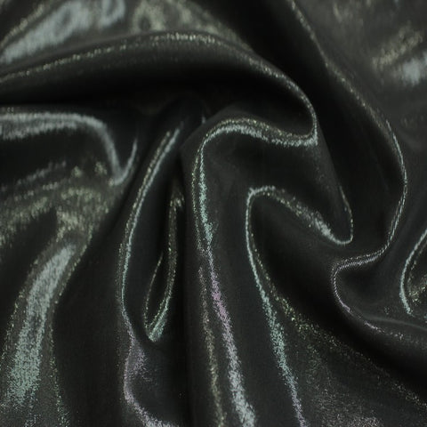 Silk Chiffon Lame 10 Black Black