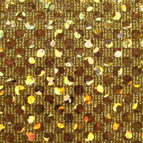 Shattered Glass Hologram Spandex 10 Gold