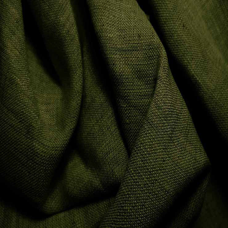 Medium Weight Linen - 6.5-oz 10 Grass Stain - NY Fashion Center Fabrics