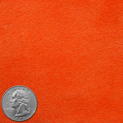 Polyester Faux Fur 10 Orange