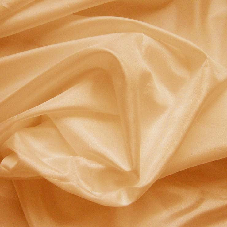 Polyester China Silk 10 Peach