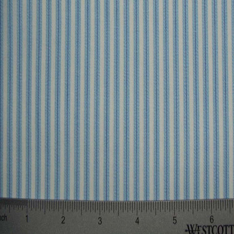 100% Cotton Fabric Stripes Collection #10 10 TWS0151SKY - NY Fashion Center Fabrics