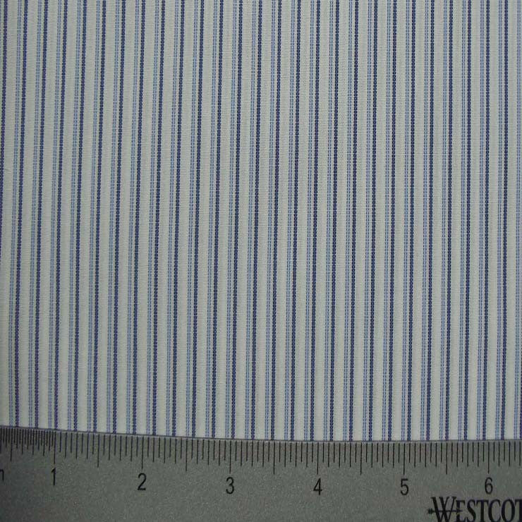 100% Cotton Fabric Stripes Collection #1 10 Y D8022BLU - NY Fashion Center Fabrics