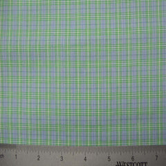 100% Cotton Fabric Checks Collection #3 10 Y D9501G B - NY Fashion Center Fabrics