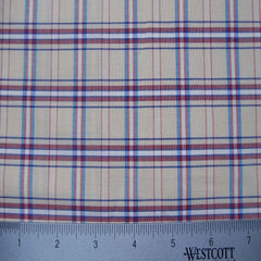 100% Cotton Fabric Checks Collection #2 10 Y D9747MUL - NY Fashion Center Fabrics