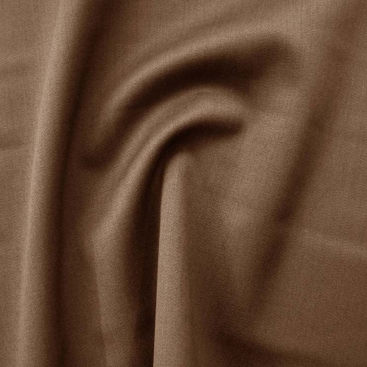 Superfine Wool Sateen 1007 Coffee