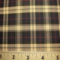 100% Cotton Fabric Checks #8 101 KO 3468 Y D9810NWR - NY Fashion Center Fabrics