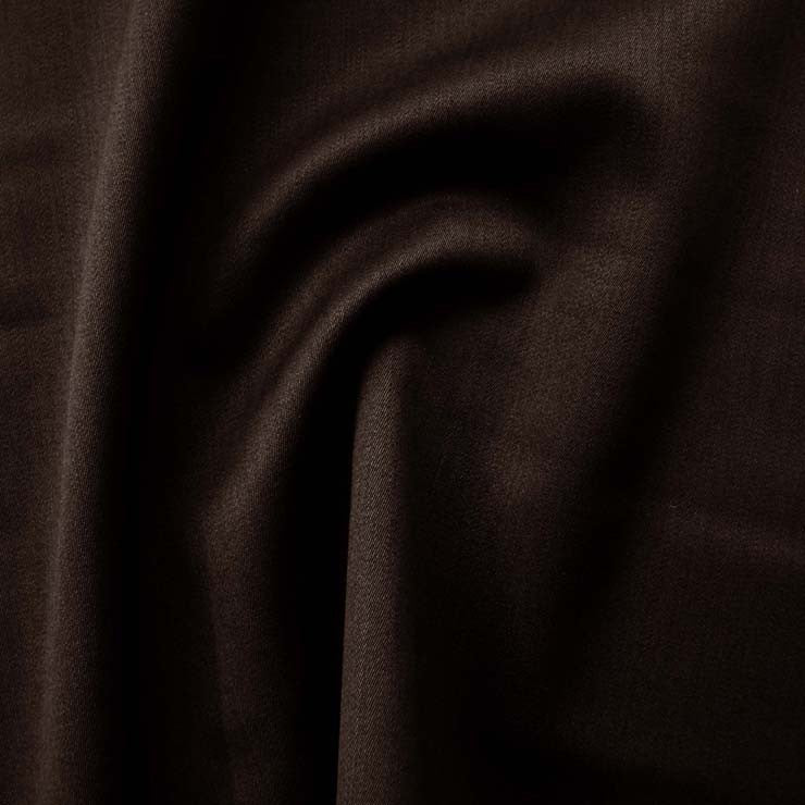 Superfine Wool Sateen 1014 DarkBrown