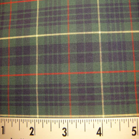 100% Cotton Fabric Checks #8 102 KO 3469 Y D9811BGR - NY Fashion Center Fabrics