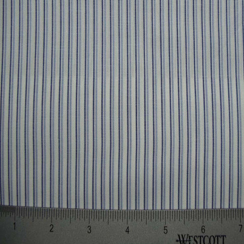 100% Cotton Fabric Stripes Collection #5 107 KO 3452 Y D8022BLU - NY Fashion Center Fabrics