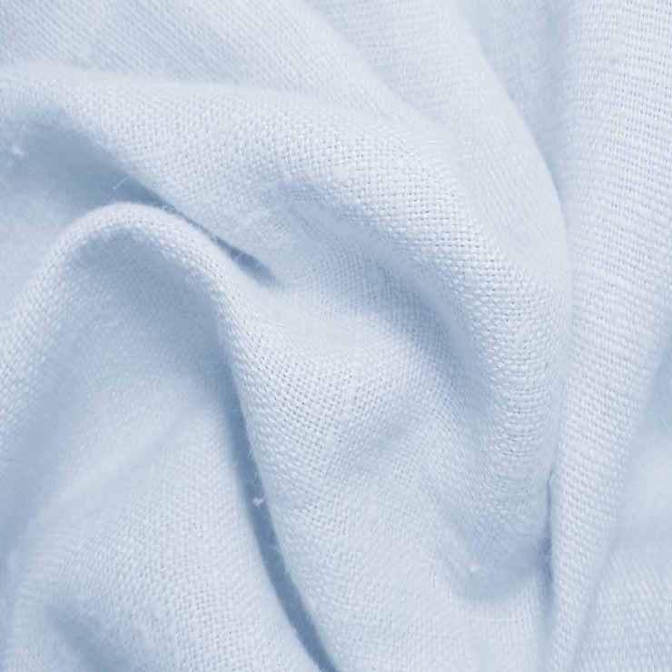 Heavyweight Linen 11 Baby Blue - NY Fashion Center Fabrics