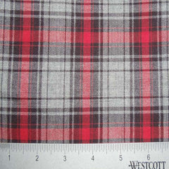 100% Cotton Fabric Checks Collection #5 11 FLN5000G R - NY Fashion Center Fabrics