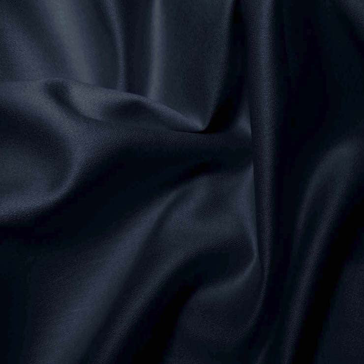 Pima Cotton Sateen - 20 Yard Bolt 11 Navy