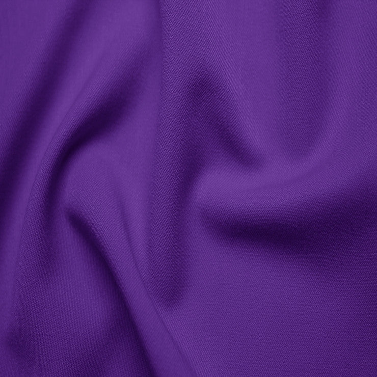 Poly/Rayon Blend Stretch Gabardine - 20 Yard Bolt 11 Purple