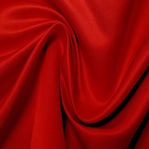 Silk Blend Duchess Satin Red