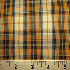100% Cotton Plaids Fabric 11 Y D9746MUL_740X740 - NY Fashion Center Fabrics