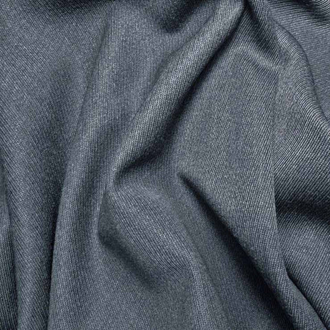 Wool Elastique Blend Fabric 114 French Blue