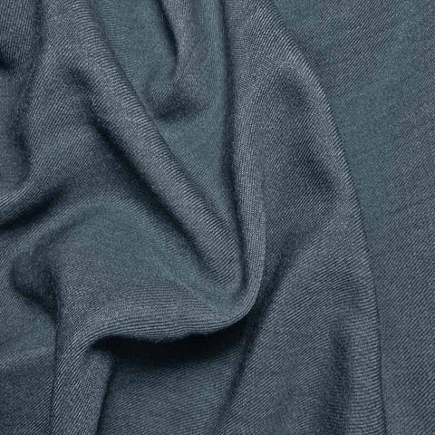 Wool Blend Gabardine 114 French Blue