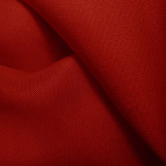Silk Gazar Crimson Red
