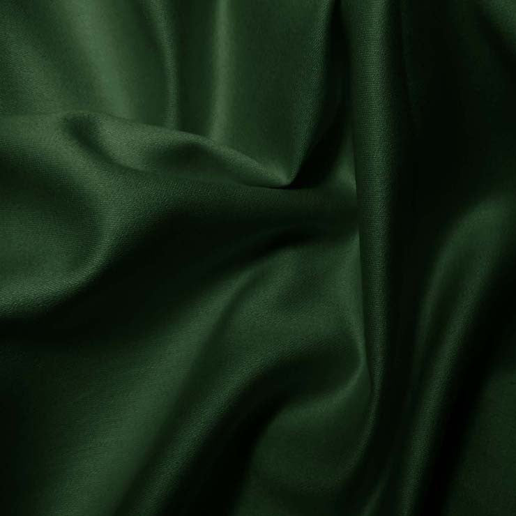 Pima Cotton Sateen - 20 Yard Bolt 12 Hunter Green